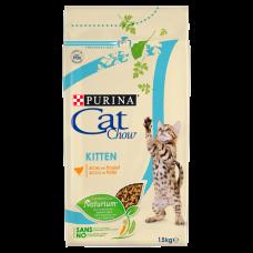 Cat Chow Kitten ,сухой корм для котят с курицей, весовой 1 кг.