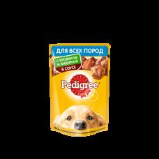 Pedigree,влажный корм для собак с кроликом и индейкой в соусе,85гр.