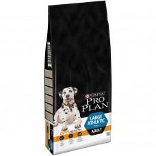 Pro Plan Adult Large Athletic,сухой корм для взрослых собак крупных пород с курицей и рисом,уп.14 кг.