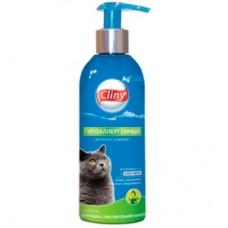Cliny,шампунь гипоаллергенный для кошек,200 мл.