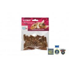 TitBit Кишки говяжьи мини кошки - мягкая упаковка 009635