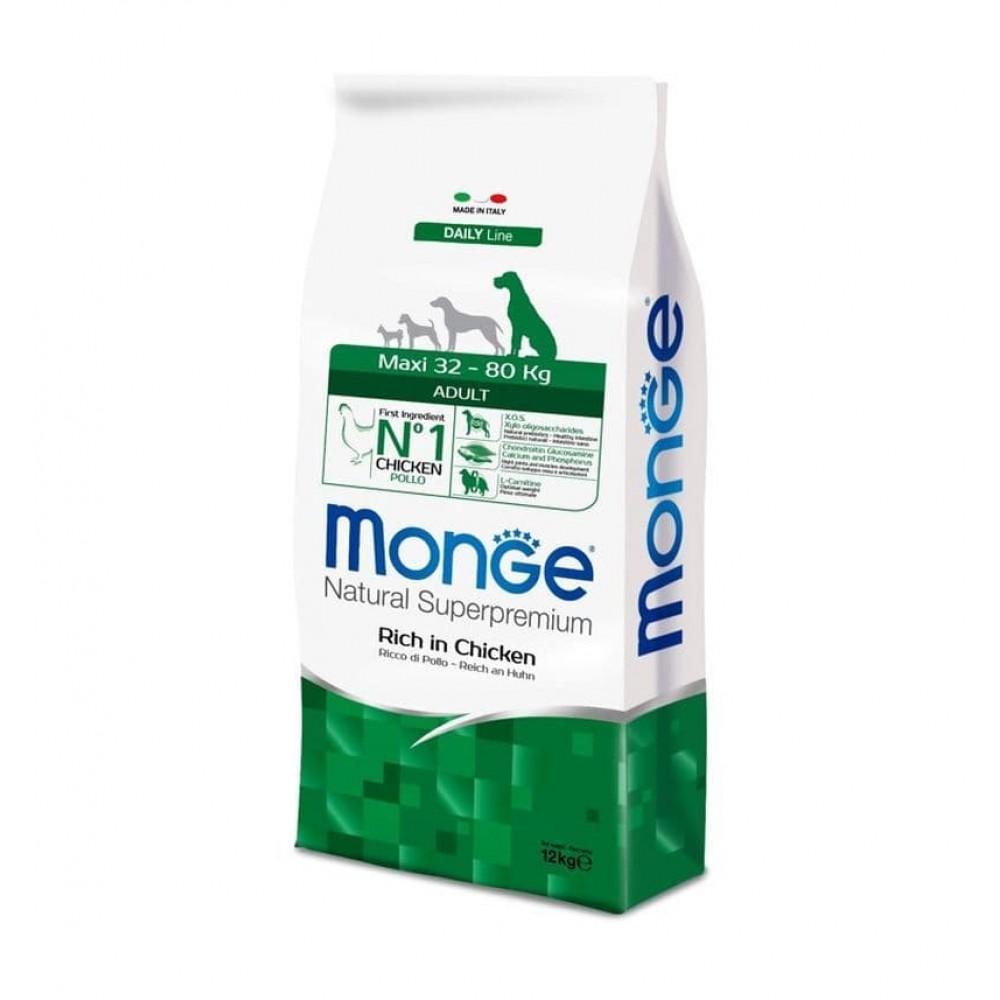 Monge Dog Maxi Adult,сухой корм для взрослых собак крупных пород,уп.12 кг.