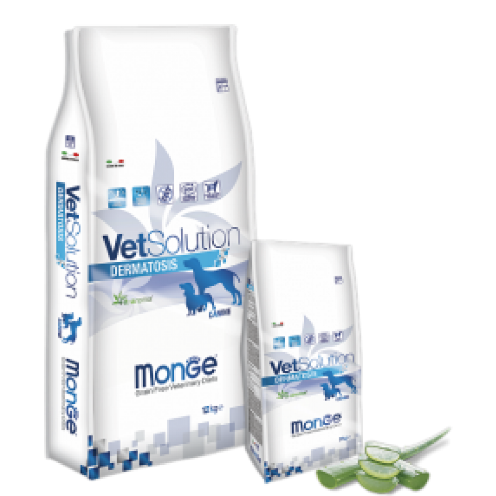 Monge Vetsolution Dog Dermatosis,диета для собак при кожных заболеваниях,уп.2 кг.