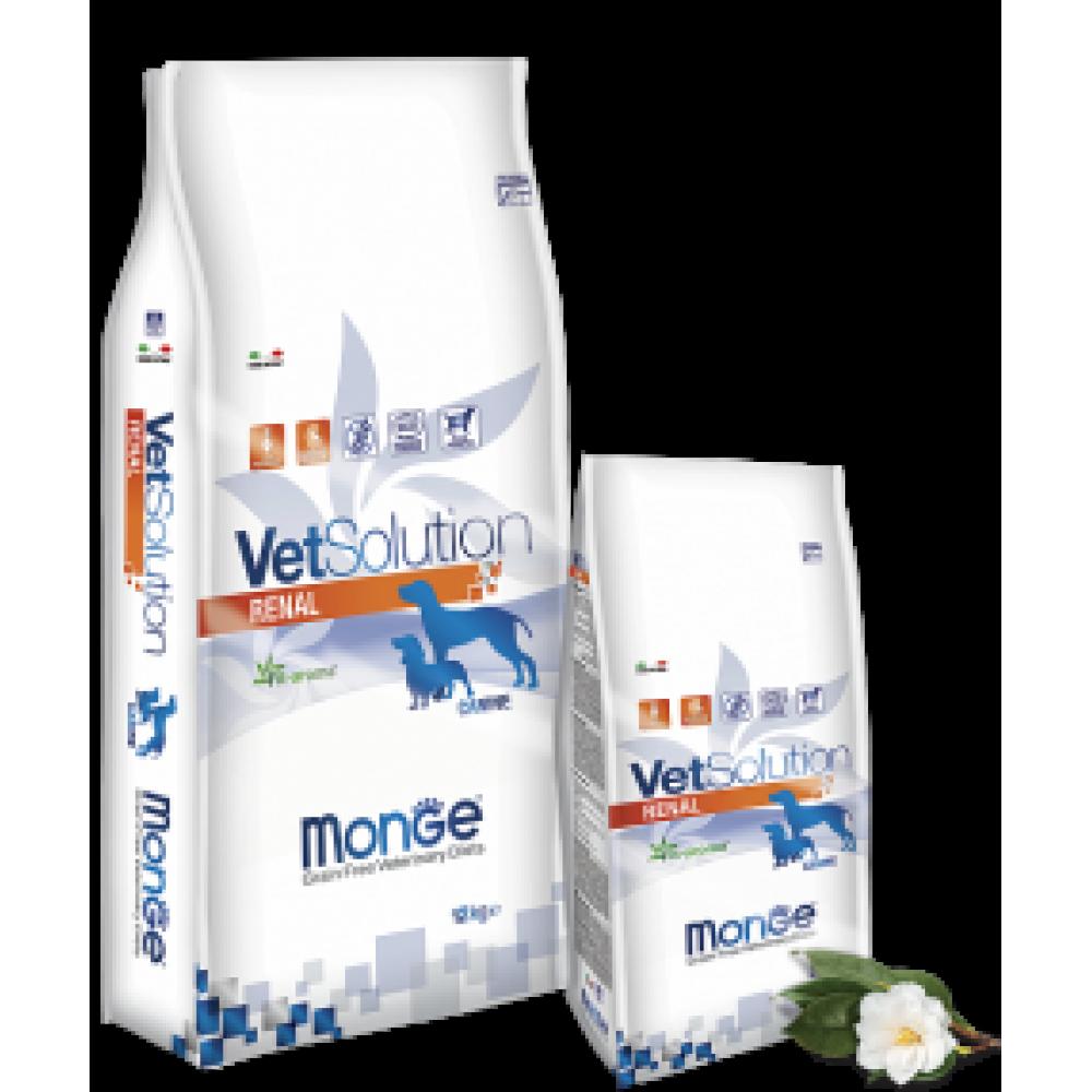 Monge Vetsolution Dog Renal,диета для собак при заболеваниях почек,уп.2 кг.