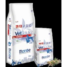Monge Vetsolution Dog Cardiac,диета для собак при заболеваниях сердца,уп.2 кг.