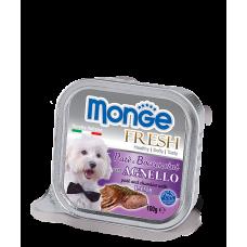 Monge Fresh Dog,паштет для собак с бараниной,уп.100 гр.