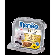 Monge Fresh Dog,паштет для собак с курицей,уп.100 гр.