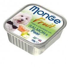 Monge Fruit Dog,паштет для собак с лососем и грушей,уп.100 гр.