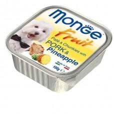 Monge Fruit Dog,паштет для собак со свининой и ананасом,уп.100 гр.