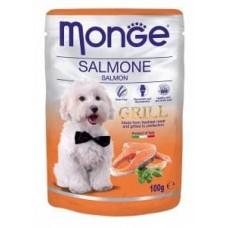 Monge Dog Grill,влажный корм для собак c лососем,уп.100 гр.