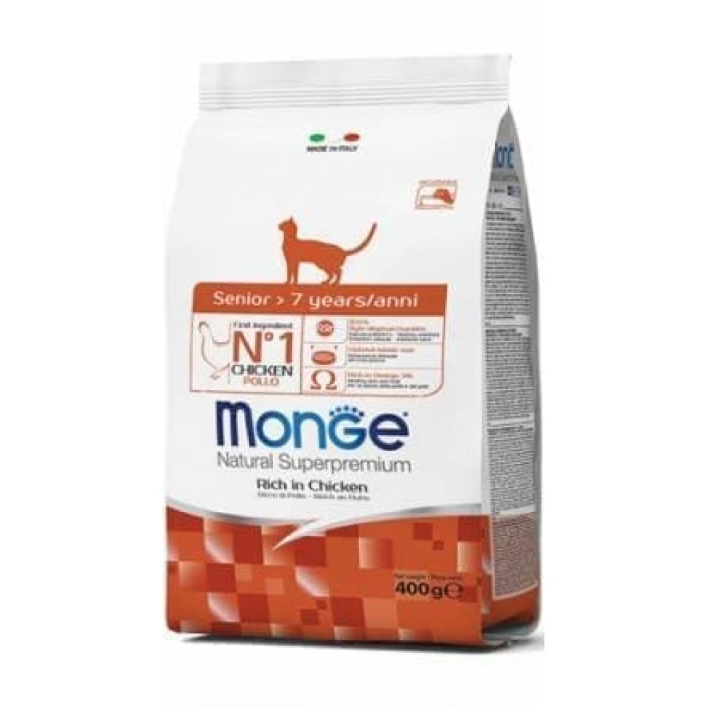 Monge Cat Kitten,сухой корм для котят,уп.400 гр.