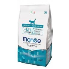 Monge Cat Kitten,сухой корм для котят,уп.1,5 кг.