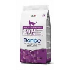 Monge Cat Adult,сухой корм для взрослых кошек,уп.1,5 кг.