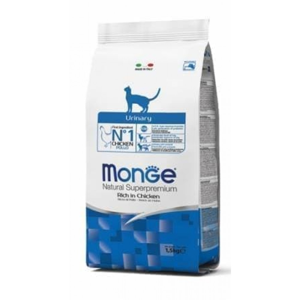 Monge Cat Urinary,сухой корм для кошек с проблемами мочевыделительной системы,уп.1,5 кг.