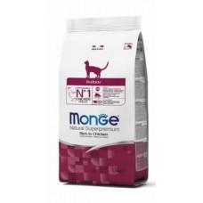 Monge Cat Indoor,сухой корм для кошек живущих в доме,уп.1,5 кг.