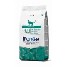 Monge Cat Hairball,сухой корм для вывода шерсти у кошек,уп.1,5 кг.