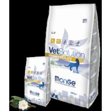 Monge Vetsolution Cat Urinary-Oxalate,диета для кошек при мочекаменной болезни,уп.1,5 кг.
