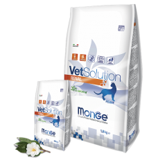 Monge Vetsolution Cat Renal,диета для кошек при заболеваниях почек,уп.1,5 кг.