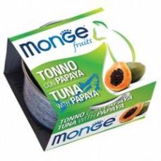 Monge Frut Cat,влажный корм для кошек тунец с папайей,уп.80 гр.