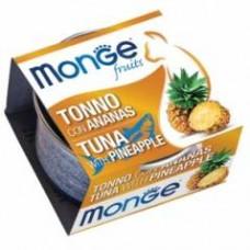 Monge Frut Cat,влажный корм для кошек тунец с ананасом,уп.80 гр.
