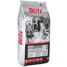 Blitz Adult Light корм для взрослых собак с лишним весом 15 кг