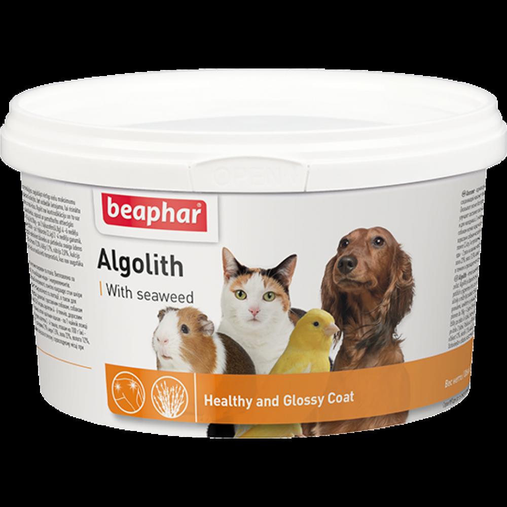 Beaphar Algolith,пищевая добавка из морских водорослей для животных,уп.250 гр.