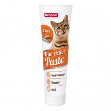 Beaphar Duo Active paste,мультивитаминная паста для кошек,100 гр.