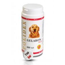 Polidex Gelabon plus,витамины для суставов для собак и щенков,500 таблеток