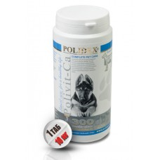 Polidex Polivit-Ca plus,мультивитамины для щенков,300 таблеток(1т./10кг.)