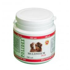 Polidex Multivitum plus,мультивитамины для собак,150 таблеток