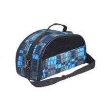 ЕвроПродукт №1,сумка-переноска боковое окно,мини+ремень раскладная,38х18х21 см.