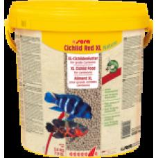 Sera Cichlid Red XL Nature,корм для крупных,хищных,а так же всеядных видов рыб,уп.25 гр.