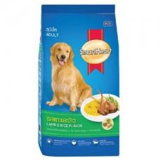 Smart Heart,сухой корм для взрослых собак с ягненком и рисом,уп.15 кг.