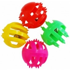 ЕвроПродукт УЮТ,мяч-погремушка решетчатая с шипами,4 см.