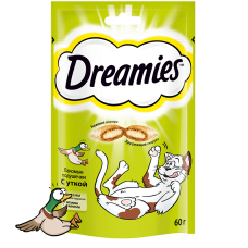 Dreamies,лакомства c уткой,60 гр.
