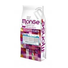 Monge Cat Breeder Kitten,монобелковый сухой корм для котят с курицей,уп.10кг.