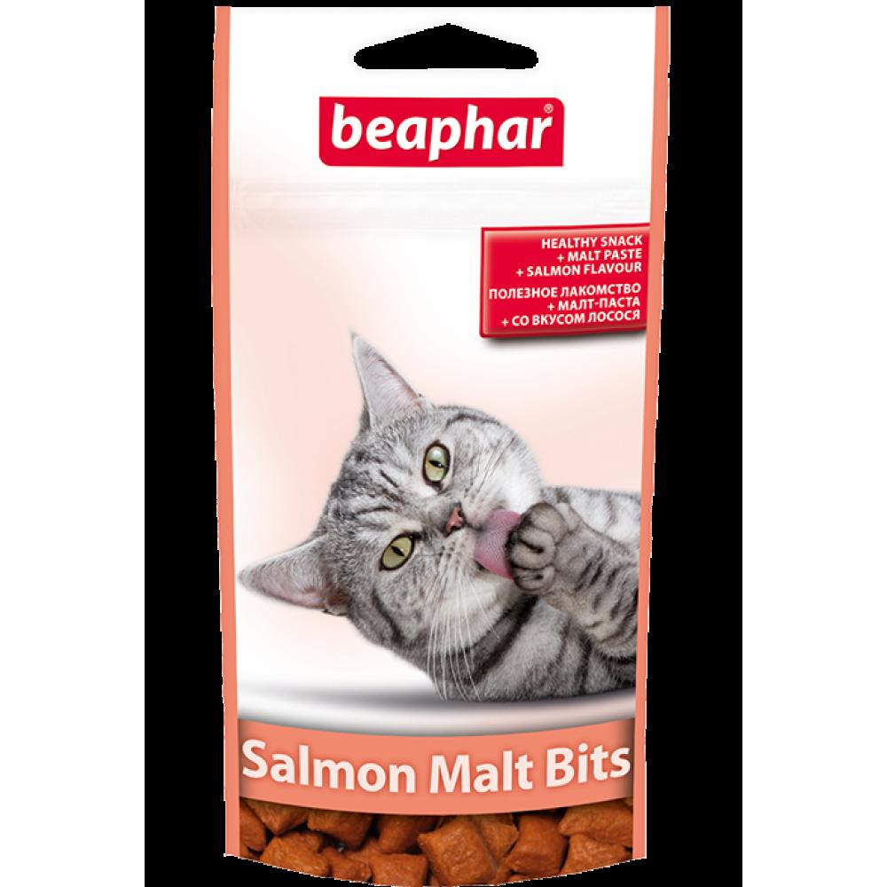 Beaphar Salmon Malt Bits,витаминное лакомство со вкусом лосося,35 гр.