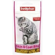 Beaphar Skin&Coat Bits лакомство с омега3,35 гр
