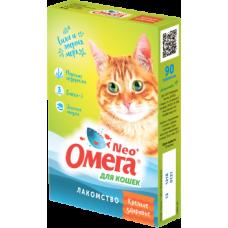 Омега NEO+ для кошек,«Крепкое здоровье» уп.90 таблеток