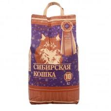 """Сибирская Кошка """"Супер"""",комкующийся наполнитель,уп.10 кг."""