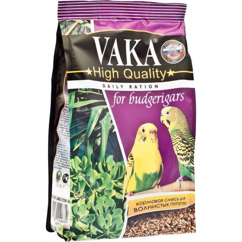 Вака High Quality,корм для волнистых попугаев,500 гр.
