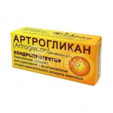 Артрогликан хондропротектор комплексное средство для укрепления и восстановления опорно-двигательного аппарата животного,уп.30 таблеток