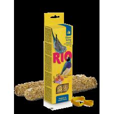 Рио,палочки для волнистых попугайчиков и экзотов с медом,40 гр.
