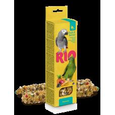 Рио,палочки для попугаев с фруктами и ягодами,40 гр.