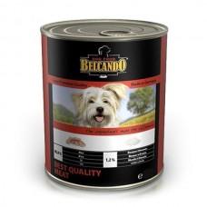 Belcando Best Quality Meat,влажный корм для собак с мясом,банка 800 гр.