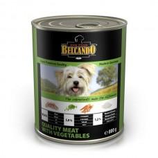 Belcando Best Quality Meat&Vegetable,влажный корм для собак с телятиной и овощами,банка 800 гр.