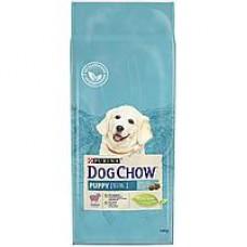 Dog Chow Puppy Lamb&Rice,сухой корм для щенков с ягненком,уп.14 кг.