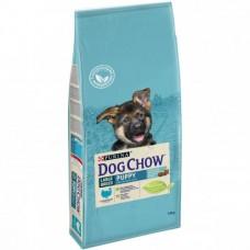 Dog Chow Puppy Large Breed,сухой корм для щенков крупных пород с индейкой,уп.14 кг.