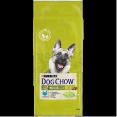 Dog Chow Adult Large,сухой корм для взрослых собак крупных пород с индейкой,уп.14 кг.