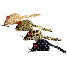 ЕвроПродукт УЮТ,мышь флок с мятой,цвета в ассортименте,6 см.